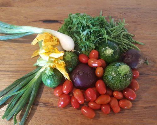 Composizione verdure